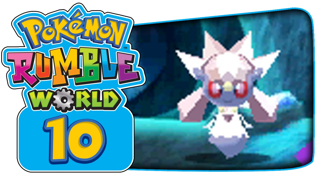 how to catch pokemon in pokemon rumble world