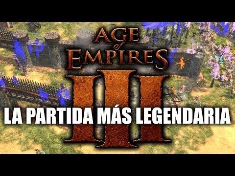 JUGANDO Age of Empires 3 - La Partida más Legendaria