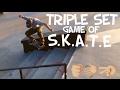 Triple Set Game of SKATE | Sheldon Skatepark