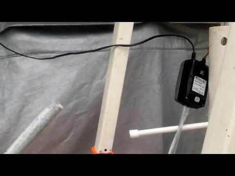 How-to Make An Air powered Hydroponic Water Pump