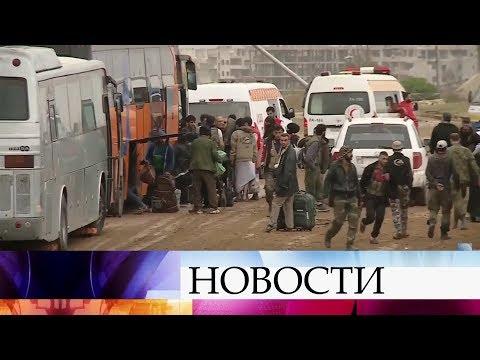 В Сирии более 90% территории Восточной Гуты освобождены от боевиков правительственными силами.