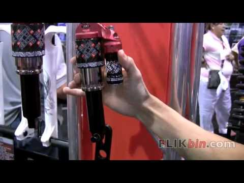 Interbike 2009 - Marzocchi Suspension - Roco Air and Coil Shocks. Titanium Spring