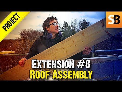 Building an Extension #8 - Cutting Roof Timbers