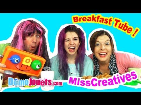 On fait notre Breakfast Tube avec MISSCREATIVES - Démo Jouets