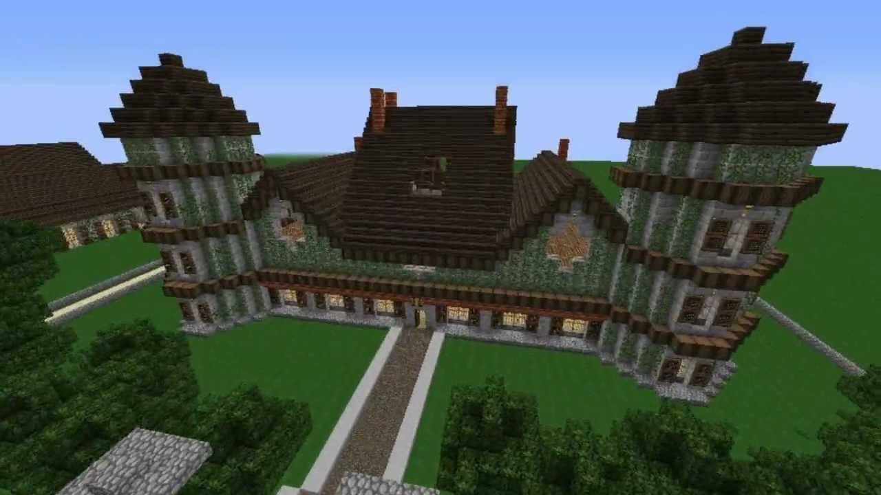 Minecraft maison de campagne youtube for La maison de campagne