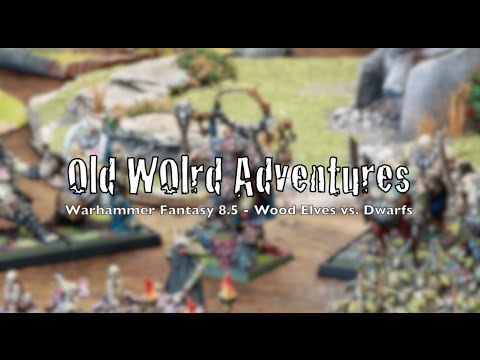 Old World Adventures - Warhammer Battle Report - Ep 01