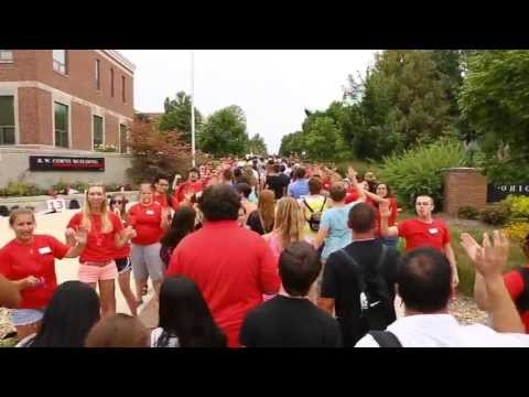 2013 Ohio Wesleyan University Move-In Day and Convocation