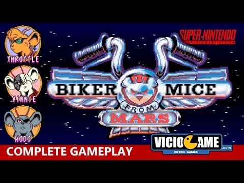 🎮 Biker Mice from Mars (SNES) Complete Gameplay