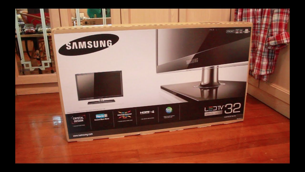 Samsung Led tv 32 Inches Series 4 Unboxed Samsung 32 Led tv