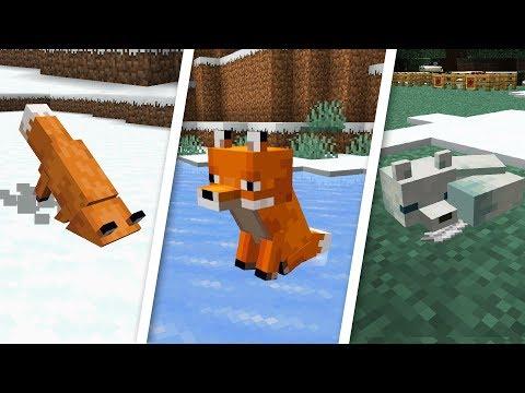 ФАКТЫ ПРО ЛИС - СНАПШОТ 19w07a - Minecraft 1.14