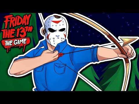 ARCHER JASON IS OP! | Friday The 13th: Single Player Challenge 7 & 8