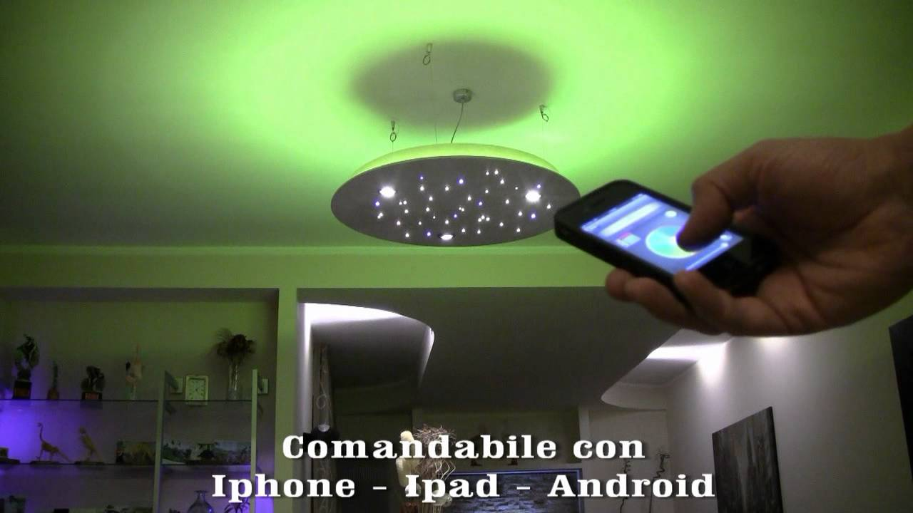 Cielo stellato LED - YouTube