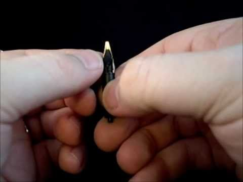How to replace a fountain pen nib