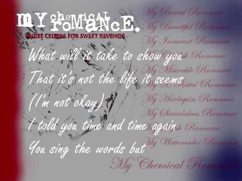 My Chemical Romance - I'm Not Okay (I Promise) (lyrics)