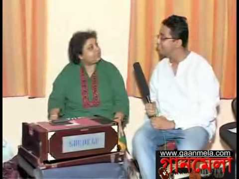 Srabani Sen Interview (P6) with Gaanmela