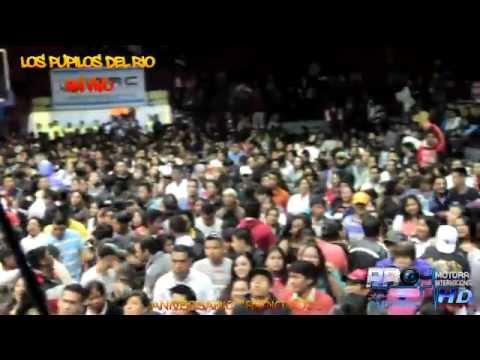 LOS PUPILOS DEL RIO  en vivo ANIVERSARIO RADIO VOCU