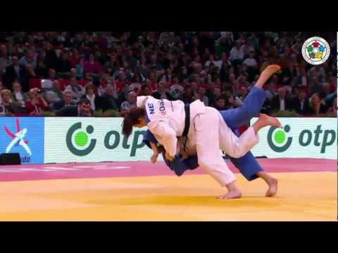 Judo Grand Slam Paris 2013: Final -70kg  POLLING, Kim (NED) -  ZUPANCIC, Kelita (CAN)