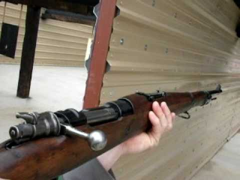 Jake shooting Yugo 24/47 Mauser