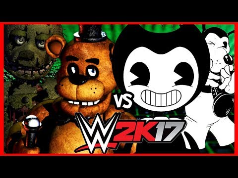 Bendy and the Ink Machine vs. Five Nights at Freddy's | WWE 2K17