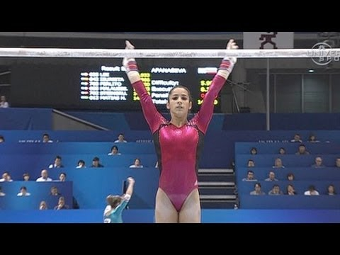 Alexandra Raisman 4th in Championship