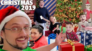 NO CHRISTMAS MORNING 2019 Vlog (FV Family)