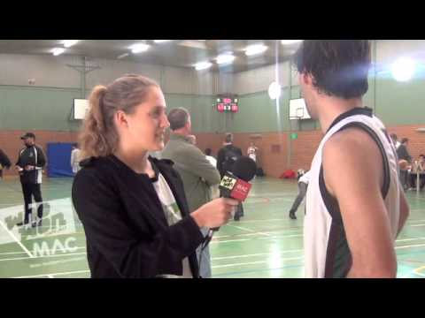 Basketball- Melbourne High School's Thomas chats to Steph about the exchange with Adelaide High!