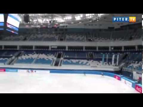 Юлия Липницкая упала в короткой программе