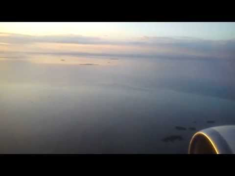 Approaching Mactan Cebu International Airport HD