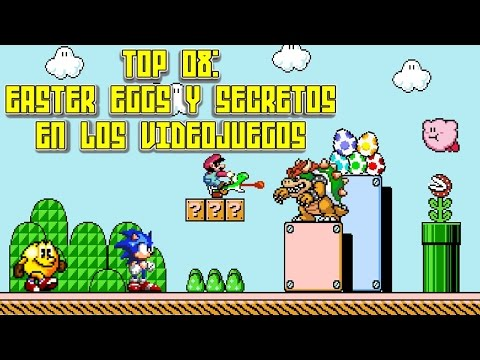 Top 08: Easter Eggs y Secretos en los Videojuegos