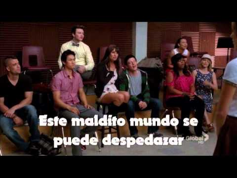 You Get What You Give - Glee (FULL - Subtitulado)