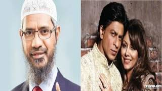 zakir naik against  bollywood superstar shahrukh khan