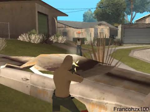 El tio Gilipollas se venga de CJ - Gta San Andreas Loquendo