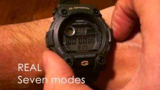 G-Shock G-7900 fake vs real