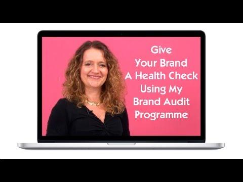 How to Audit Your Brand Programme, Lorraine Carter, Branding Expert