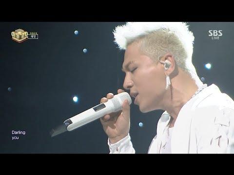 download lagu Taeyang - 'darling` 0827 Sbs Inkigayo gratis