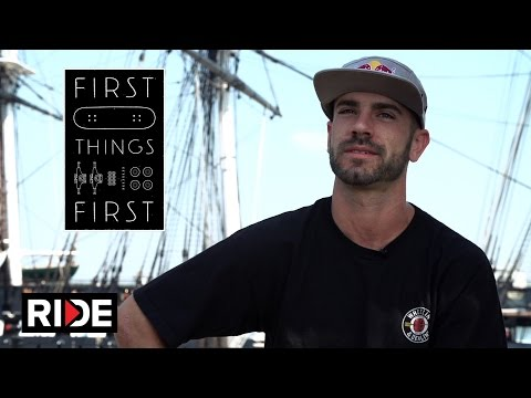 Zered Bassett's First Skateboard - First Things First