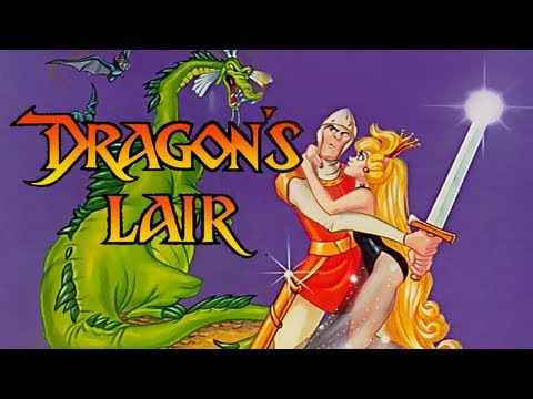 LGR - Dragon's Lair - DOS PC Game Review