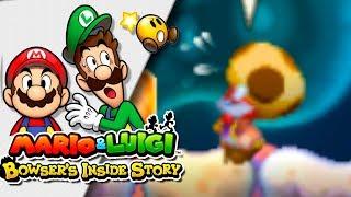 RESCATANDO AL MAESTRO KINOPIO | Mario & Luigi: Bowser Inside Story 3DS | Ep 6 -- RED SHOCK --