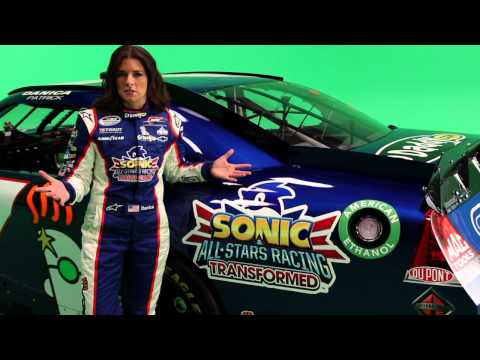 Danica Patrick on Appearing in SEGA's Sonic & All-Stars Racing Transformed