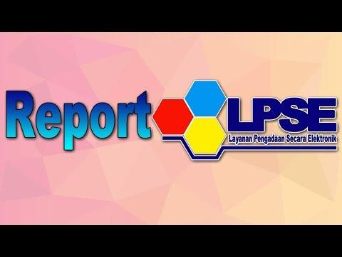 Tutorial Sederhana Buat Aplikasi Reporting SPSE