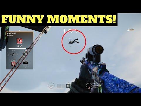 Funny Moments - Rainbow Six Siege (Dream Team #49)