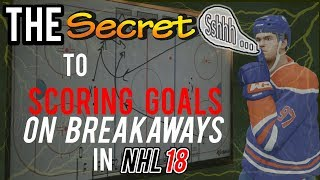 The Secret to Scoring Goals on Breakaways in NHL 18