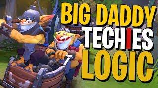 Bid Daddy Techies Logic - DotA 2