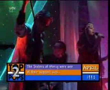Sisters of Mercy - Temple of Love - TOTP 1992