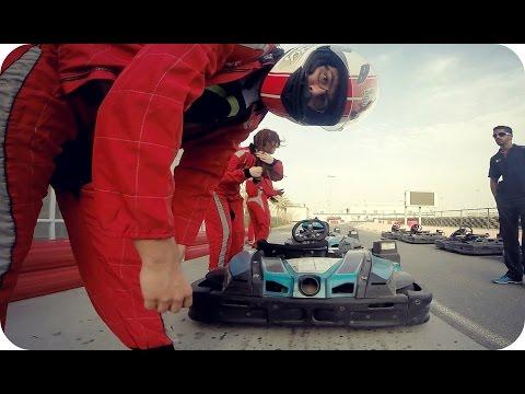 GO KARTING SESSION | Bahrain International Karting Circuit (Daily Vlog 326)