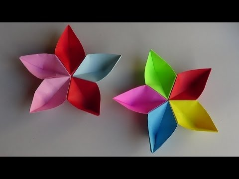 how to make origami paper flowers  origami flower
