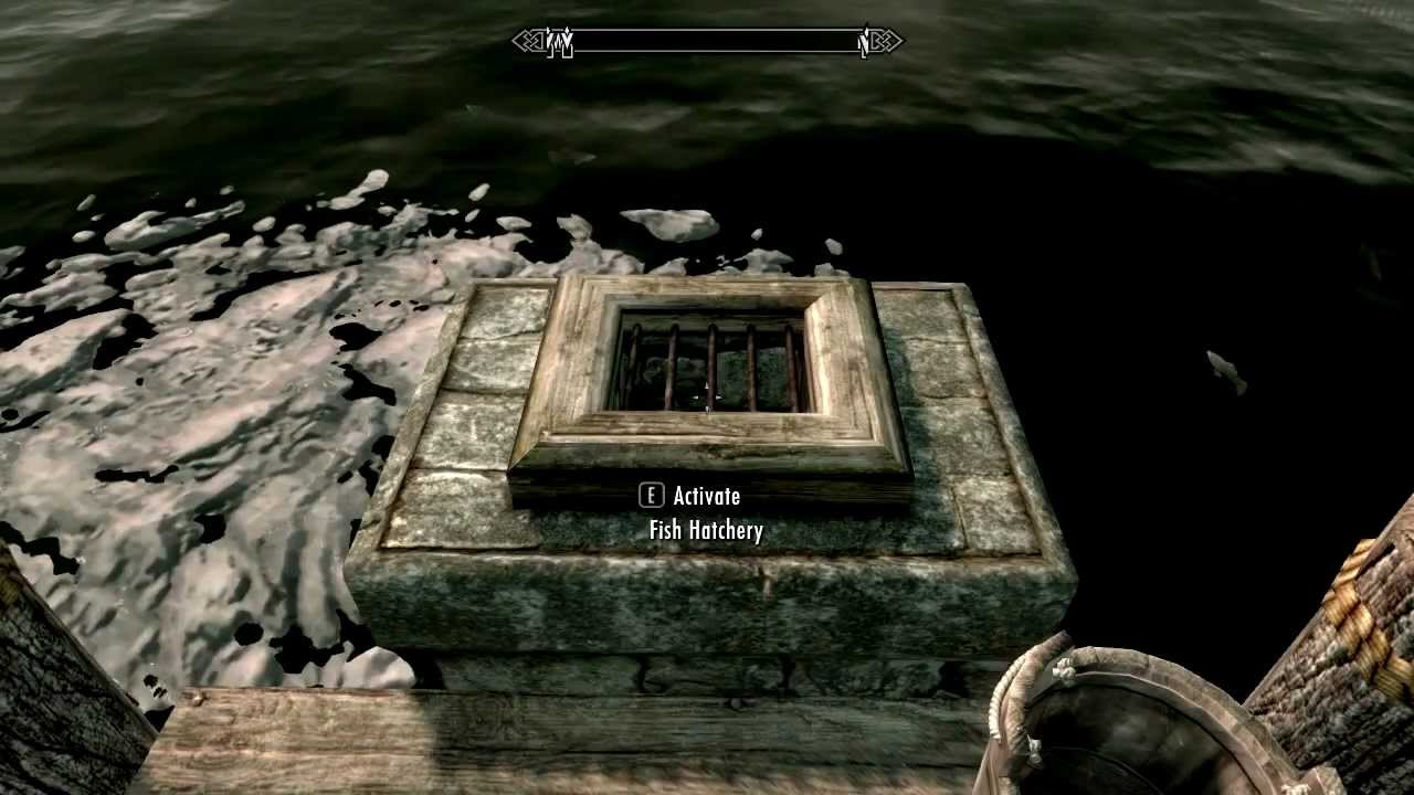 Skyrim hearthfire unique features of the homesteads youtube for Skyrim fish hatchery