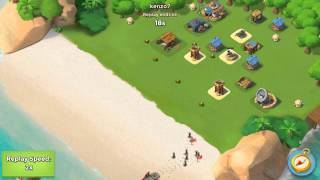Boom Beach best defend at small level