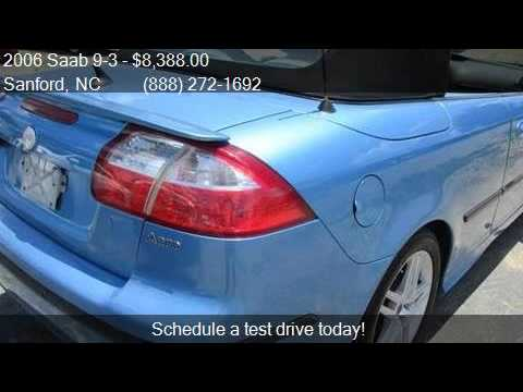 2006 Saab 9-3 Aero 2dr Convertible for sale in Sanford, NC 2