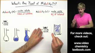 What's the Point of Molality?!?